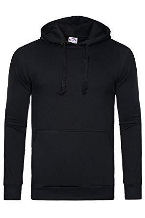 Gildan Hooded sweater neon geel – De Textiel Baron